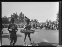 Performers in Rose Parade, Pasadena, 1927-1950