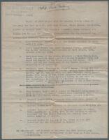 Typewritten description of photographs of Mary Van Ness Leavitt, sister of Herbert Hoover, and copies of photographs from Hoover family album, 1928