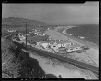Beach homes, Malibu, 1931