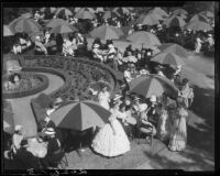 Assistance League garden party, [San Marino or Santa Monica?], 1934