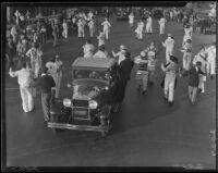 Marathon dance competitors, Culver City or Santa Monica, 1928
