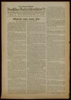 Deutsches Nachrichtenbüro. 6 Jahrg., Nr. 108, 1939 January 23, Erste Morgen-Ausgabe