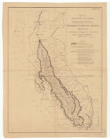 Map of northern California showing general plan for the reclamation of the entire Sacramento and San Joaquin Valleys
