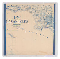 Map of the County of Los Angeles, California