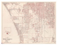 1945 precinct map no. 11 of the county of Los Angeles / compiled by Alfred Jones, County Surveyor