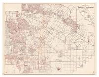 1945 precinct map no. 12 of the county of Los Angeles