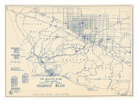 The Master Plan North Portion County of Los Angeles Highway Plan