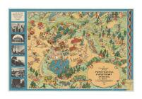 A Cartograph of the Montezuma Mountain School for Boys in the Santa Cruz Mountains