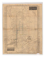 Map of the city of Pasadena, Cal. and vicinity