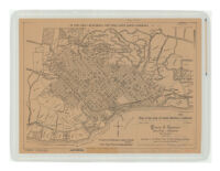 Map of the City of Santa Barbara, California