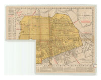 Map of the City of Sacramento