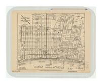 Peasnall's Midget map of Santa Monica, California