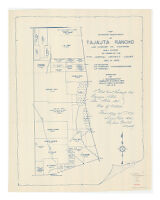 Map Showing Sub-Division of Tajauta Rancho, Los Angeles Co., California