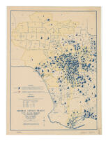 Federal census tracts : City of Los Angeles and adjacent areas.