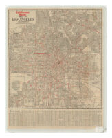 California Bank Map of Los Angeles