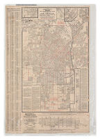 """Security"" map and street railway guide of the City of Los Angeles and vicinity with map of beaches and nearby points of interest  Image 1"