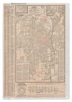 """Security"" map and street railway guide of the City of Los Angeles and vicinity with map of beaches and nearby points of interest  image2"