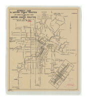 Street Car & Motor Coach Routes of Los Angeles Railway Corp. and Motor Coach Routes of Los Angeles Motor Coach Co. as of July 7th 1932
