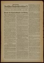 Deutsches Nachrichtenbüro. 6 Jahrg., Nr. 838, 1939 May 31, Abend-Ausgabe