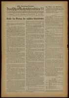 Deutsches Nachrichtenbüro. 6 Jahrg., Nr. 1643, 1939 November 23, Erste Vormittags-Ausgabe