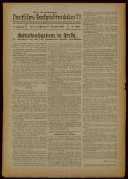 Deutsches Nachrichtenbüro. 6 Jahrg., Nr. 1665, 1939 November 27, Erste Nacht-Ausgabe