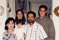 The Munoz Family on Father's Day