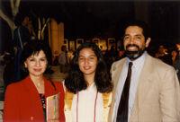 Brigida Munoz' high school graduation
