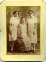 Family portrait taken for el dia de las madres