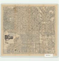 Map of Los Angeles Compliments of Bekins Van and Storage Co.