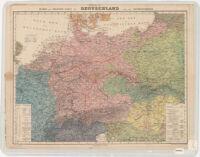 Völker und Sprachen-Karte von Deutschland und den Nachbarländern