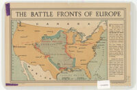 The Battle Fronts of Europe