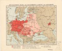 Der Deutsche Volks - und Kulturboden in Mittel - und Osteuropa