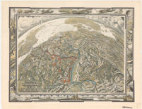 Military Panora Map of the Theatre of War