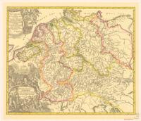 Hydrographia Germaniae. Homann
