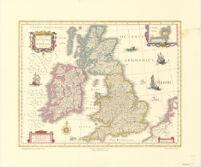 Magne Britanniae et Hiberniae Tabvla
