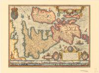 Angliae, Scotiae, et Hiberniae, Sive Britannicar: insularum Descriptio.