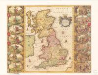 Britannia prout disnifa fuit temporibus Anglo-Saxonvm, prefertim durante illorum Heptarchia.