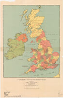 A literary map of the British Isles