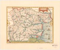 John Norden's Map of Essex, 1594