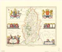 Comitatvs Nottinghamiensis; Nottingham Shire