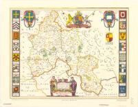 Oxonivm comitatus, vulgo Oxfordshire