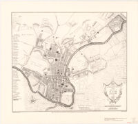 A New and Accurate Plan of the City of Bath to the Present Year, 1799