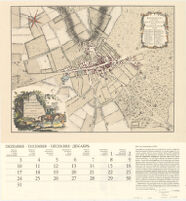 Plan of the Town of New Market, Surveyed by I. Chapman, London, 1787