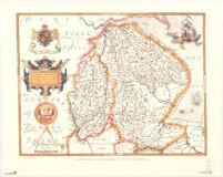 Lincolniæ, Notinghamiæq[ue] comitatuũ noua vera et accurata descriptio : anno Domini 1576