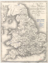 A new Map of Saxon Britain or England & Wales, with part of Scotland, Ireland &c.