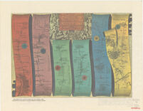 Road Map from London to Oxford by John Ogilby, 1675