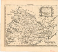 """A New Map of the Counties of Ross and Cromarty, Drawn from the best Authorities: By Tho: """"Kitchin Geog?"""""""