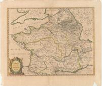 Typvs Galliae Veteris, Ex conatib Geograph. Abrah. Ortelii.