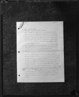 Page 1 of an autobiographical statement by Dr. Leonard Siever, 1933