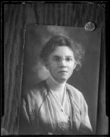 Portrait of Mary Skeele, circa 1895-1910
